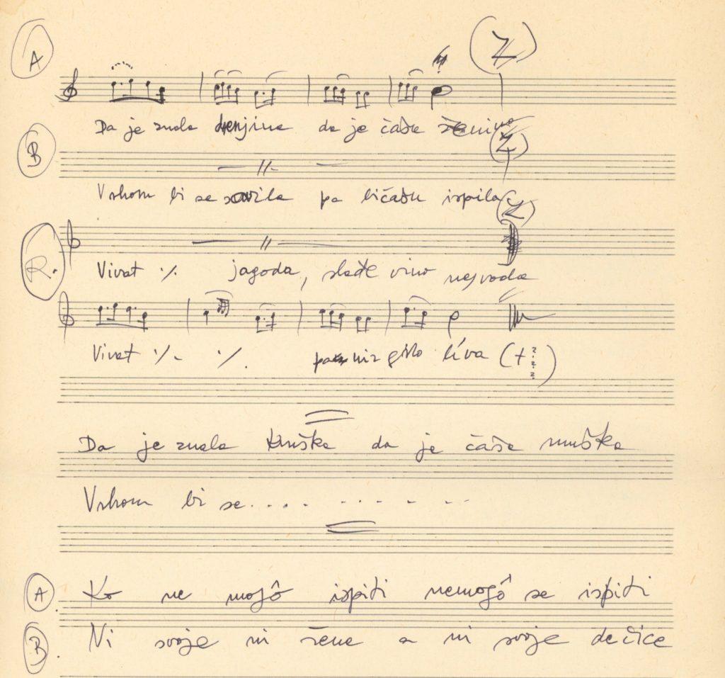 lakodalmas énekek kézirata (VT_2018_5_img025)