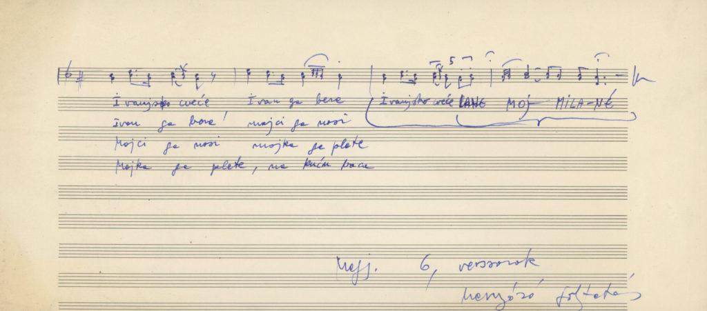szentiváni ének, Pomáz